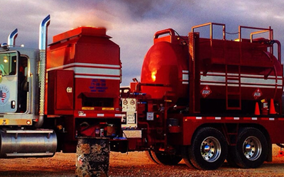 Hot OIl Truck - Patriot Oilfield Services