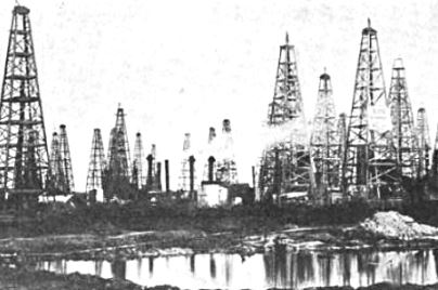 oil discovery story spindletop beaumont, tx in 1901